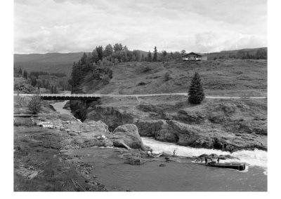 Moricetown Canyon Bridge, Moricetown, BC, 2006. Digital print, 50.8 x 61 cm
